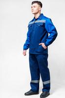Костюм рабочий с СВЛ тк. дефенса (брюки+куртка)