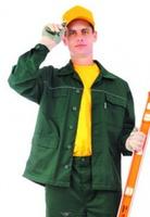 """Куртка рабочая """"Лидер"""", тк. зибо, цв. зеленый"""