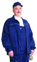 """Куртка рабочая """"Лидер-1"""", тк. смесов., цв. синий"""