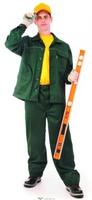 """Куртка рабочая """"Лидер-1"""", тк. смесов., цв. зеленый"""