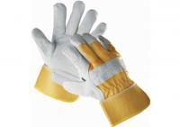 Перчатки комбинированные х/б со спилком «Ейдер»